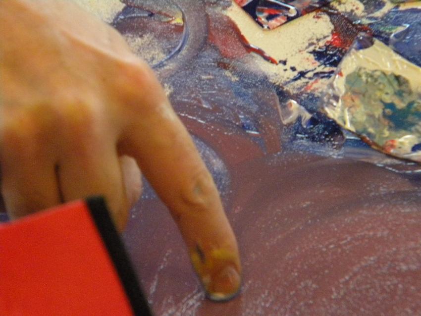Vedic art peinture intuitive